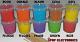 Kleuren suikerspinsuiker