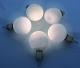 LED kerstballen zilver werking
