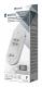 4-weg antenneversterker met retourkanaal voor kabelinternet en digitale kabeltelevisie 23dB