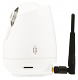 Witte IP bewakingscamera