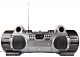 P117 Ghettoblaster met cd mp3 en bluetooth