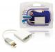 Bandridge HDMI naar VGA adapter verguld
