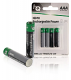 Oplaadbare NiMH batterijen 950mAh, 4 stuks in blister