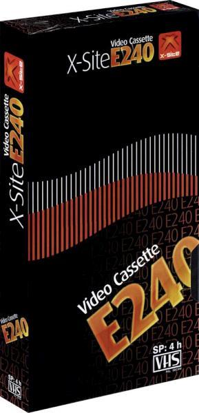 VHS videoband E240 4-uurs E240 (1 band)