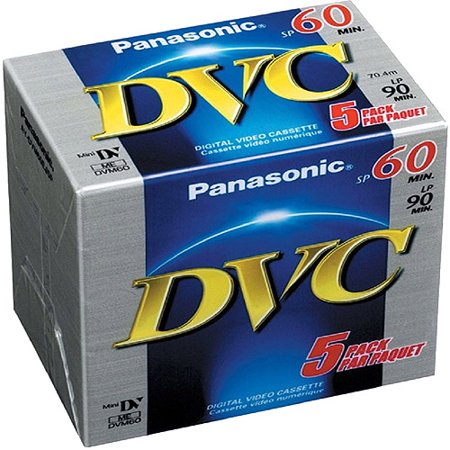 miniDV tape Panasonic DVC Premium 60 (5-pack)