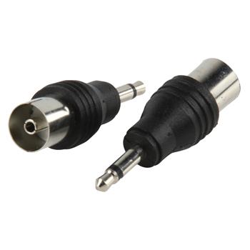 3.5mm plug-coax kontra