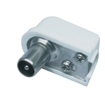 Coax plug haaks - schroefversie