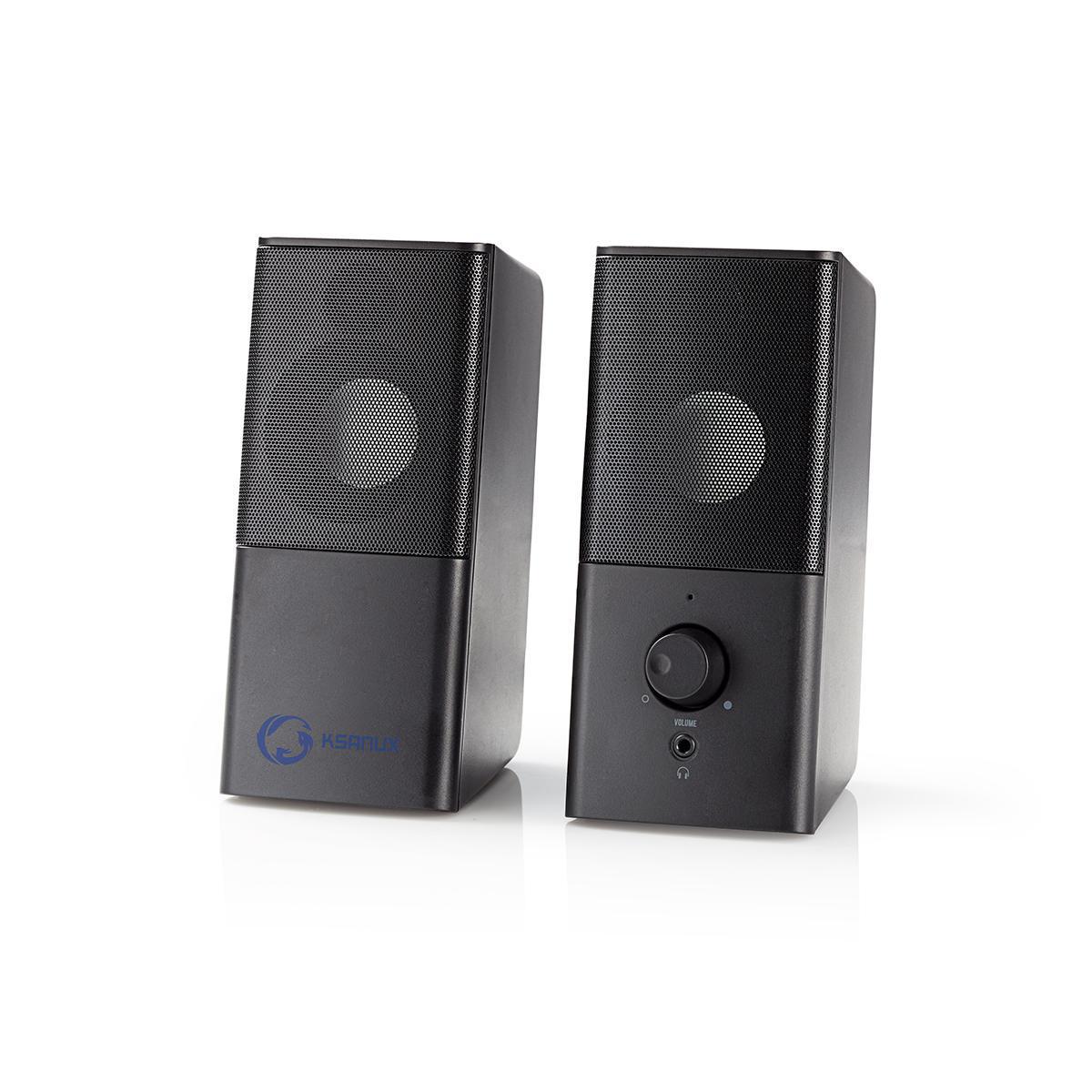 Luidsprekers 2.0 USB 3.5mm jack 6W