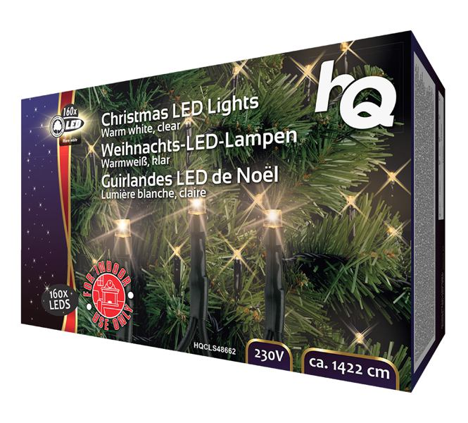Kerstverlichting voor in de boom 160 LED warm wit