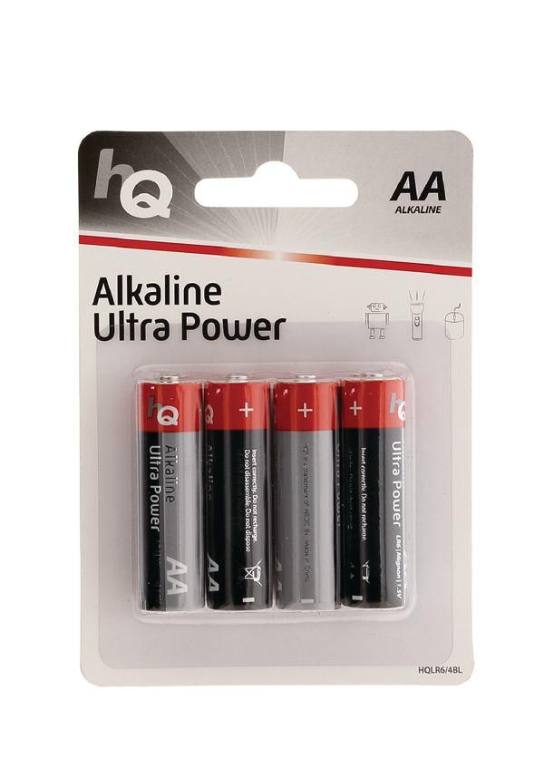 AA Batterijen, 4 stuks in blister