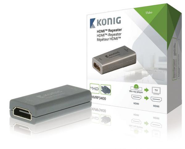 HDMI versterker met HDCP ondersteuning