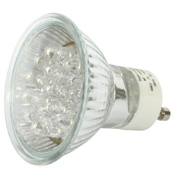 Ultra heldere LED lamp GU10 2W warm wit OP=OP