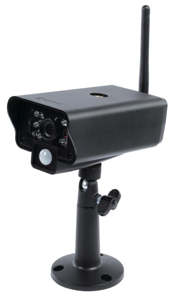 2,4 GHz Draadloze Camera Buiten VGA Zwart