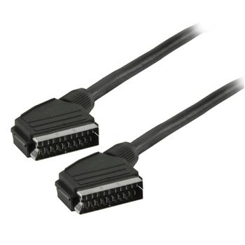 21 pins volledig afgeschermde scart kabel diverse lengtes