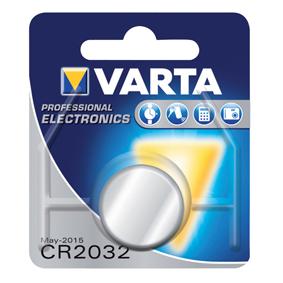 CR2032 knoopcel batterij Varta