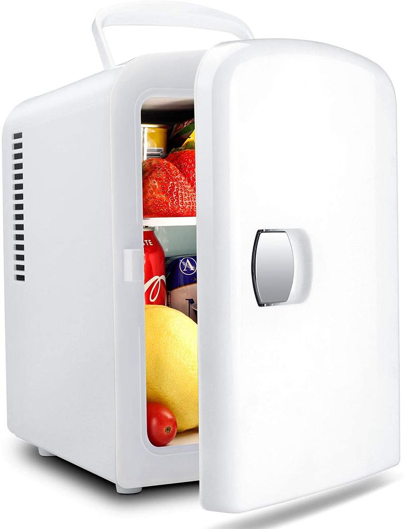 Mini koelkast 4L 230V en 12V wit