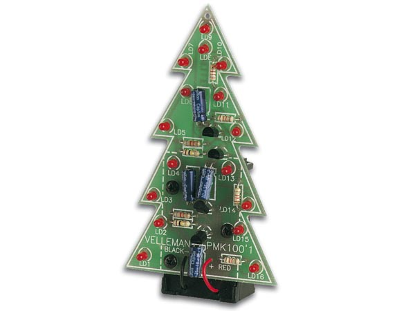 Soldeerkit: LED kerstboom