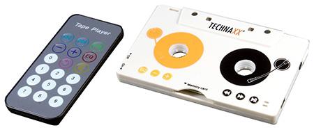 MP3 speler in cassettebandje vorm ook voor autoradio