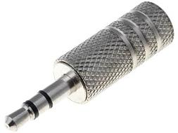 Mini jack plug 3,5mm stereo metaal OP=OP SHOP