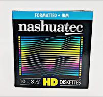 Nashua diskettes 10 pack 1.44MB HD geformatteerd