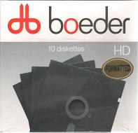 """Diskettes 10 pack 1.2MB 5,25"""" geformatteerd Boeder"""