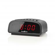 Digitale wekker met rood display