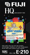 VHS videoband Fuji HQ 3,5-uurs E210 (1 band)
