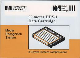 HP DAT 90 meter DDS-1 cassette