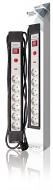 6-voudige stekkerdoos proline. Met overspanningsbeveiliging. 3m kabel