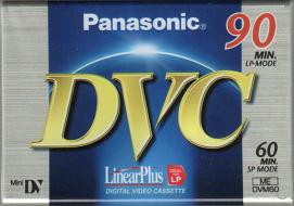 miniDV tape Panasonic DVC Premium 60 (per stuk)