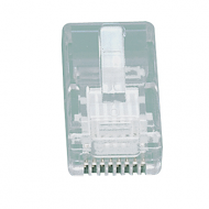 RJ45 connector voor soepele aders