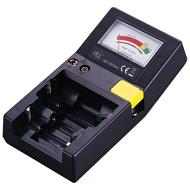 Batterijentester (AAA, AA, C, D, 9V en knoopcellen)