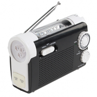 Dynamo radio/zaklamp/GSM lader