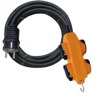Brennenstuhl verlengkabel 4 inputs, 5 meter