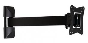 "Muurbeugel zwart ""10-32"" 25-82cm 30kg"