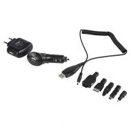 Dubbele USB laadkit voor thuis en auto