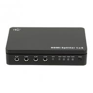 4-poorts HDMI 1.4 splitter met 3D-ondersteuning