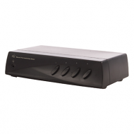 4-weg Audio/Video switch met SVHS en koptelefoonaansluiting