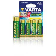 Varta oplaadbare professional power accu 2500mAh HR6 batterijen