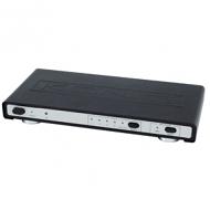 4-poorts HDMI 1.4 switch met ethernet en aparte audio uitgang