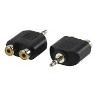 2x tulp naar stereo mini jack plug