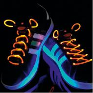 Opvallende LED schoenveters in diverse kleuren