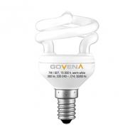 Govena spiraalvormige spaarlamp warm wit E14 OP=OP