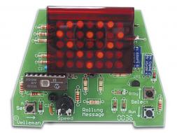 Soldeerkit: Mini-lichtkrant