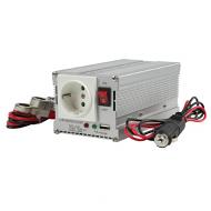 Omvormer 12V - 230V 300 Watt met USB