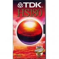 TDK VHS videoband E180 HS/TV 180