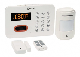 Gebruiksvriendelijk draadloos alarmsysteem