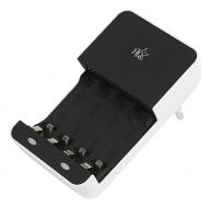 Batterijlader voor AA/AAA