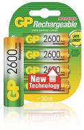 Oplaadbare NiMH batterijen 2600 mAh 1.2V