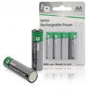 HQ oplaadbare batterij 2000 mAh AA